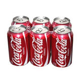 COCA COLA SODA - 6 PACK 12 FL OZ EACH CAN
