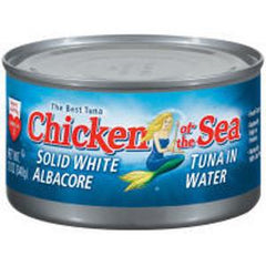 CHICKEN OF THE SEA CHUNK TUNA SOLID WHITE OIL