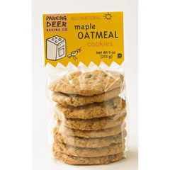 DANCING DEER   ALL NATURAL MAPLE OATMEAL COOKIES