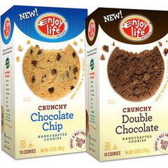 ENJOY LIFE NUT & GLUTEN FREE CHOCOLATE CHIP SOFT BAKED COOKIES