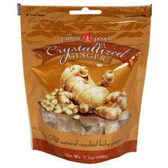 GINGER PEOPLE CRYSTALLIZED GINGER CANDY BAG