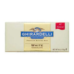 GHIRARDELLI WHITE CHOCOLATE BAKING BAR
