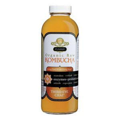 GT'S SYNERGY ORGANIC & RAW CLASSIC THIRD EYE CHAI KOMBUCHA WITH ALCOHOL