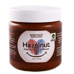 BAREFOOT & CHOCOLATE HAZELNUT CHOCOLATE SPREAD