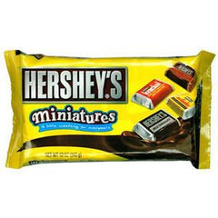 HERSHEY'S MINIATURES (KRACKEL MR. GOODBAR HERSHEY'S MILK & DARK CHOCOLATE)