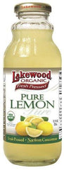 LAKEWOOD ORGANIC JUICE PURE LEMON