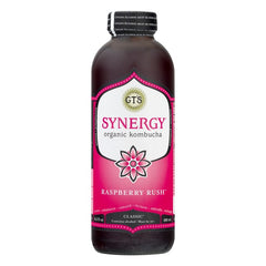 GT'S SYNERGY ORGANIC & RAW CLASSIC GINGERAD KOMBUCHA WITH ALCOHOL