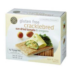 NATURAL NECTAR CRACKLEBRED SUN DRIED TOMATO & OREGANO