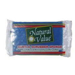 NATURAL VALUE  KITCHEN SCRUB SPONGE