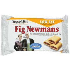 NEWMAN'S OWN FIG FRUIT FILLED YELLOW LOW FAT