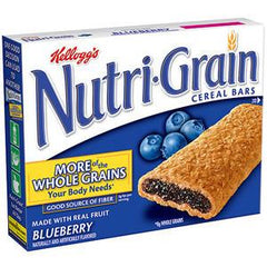 KELLOGG'S NUTRIGRAIN  CHERRY CEREAL BARS