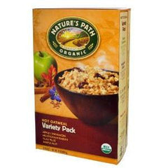 NATURE'S PATH ORGANIC VARIETY PACK HOT OATMEAL