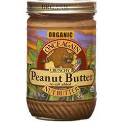 ONCE AGAIN PEANUT BUTTER CRUNCH NO SALT