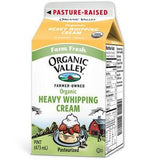 ORGANIC VALLEY ORGANIC HEAVY WHIPPING CREAM MILK