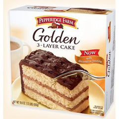 PEPPERIDGE FARM 3 LAYER CAKE - GOLDEN
