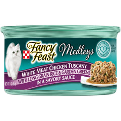 FANCY FEAST WHITE MEAT CHICKEN TUSCANY