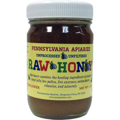 PENNSYLVANIA APIARIES WILDFLOWER RAW HONEY - UNPROCESSED - UNFILTERED