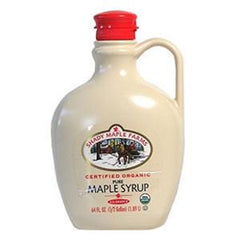 SHADY FARMS ORGANIC PURE MAPLE SYRUP GRADE 'B'