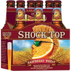SHOCK TOP RASPBERRY BEER