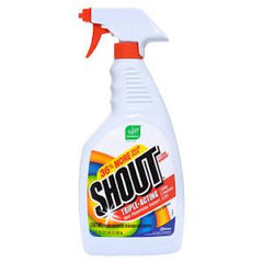 SHOUT TRIPLE ACTION STAIN REMOVER