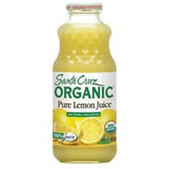 SANTA CRUZ ORGANIC 100% LEMON JUICE