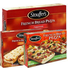 STOUFFER FRENCH BREAD CHEESE PIZZA