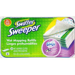 SWIFFER DISPOSABLE CLOTH REFILLS
