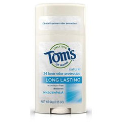 TOM'S LONG LASTING UNSCENTED DEODORANT
