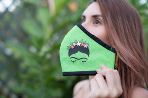 Frida Fabric Face Masks - Shop Boho PR