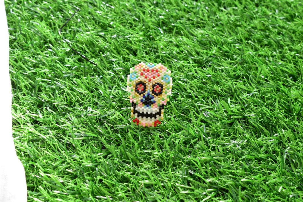 Colorful Skull Ring