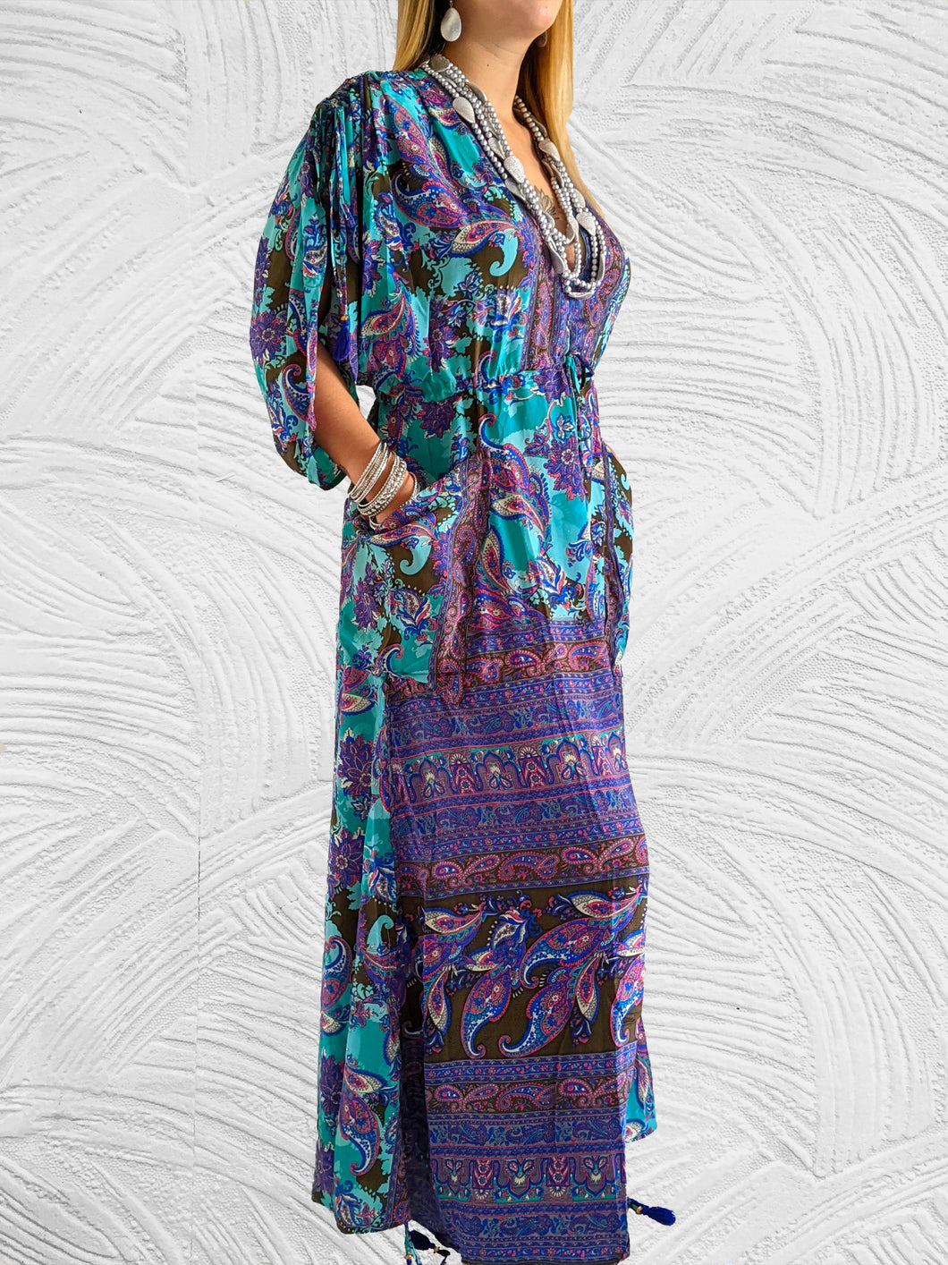 Kaftan Boho Print Dress - Shop Boho PR