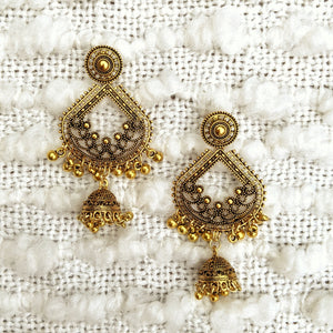Retro Tassel Birdcage Earrings - Shop Boho PR