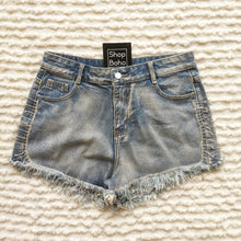 Load image into Gallery viewer, Denim Short with Rhinestones - Shop Boho PR