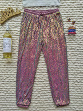 Load image into Gallery viewer, Two Tone Colored Full Sequin Jogger - Shop Boho PR