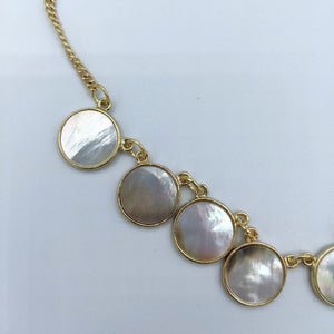 Seashell Rounds Necklace