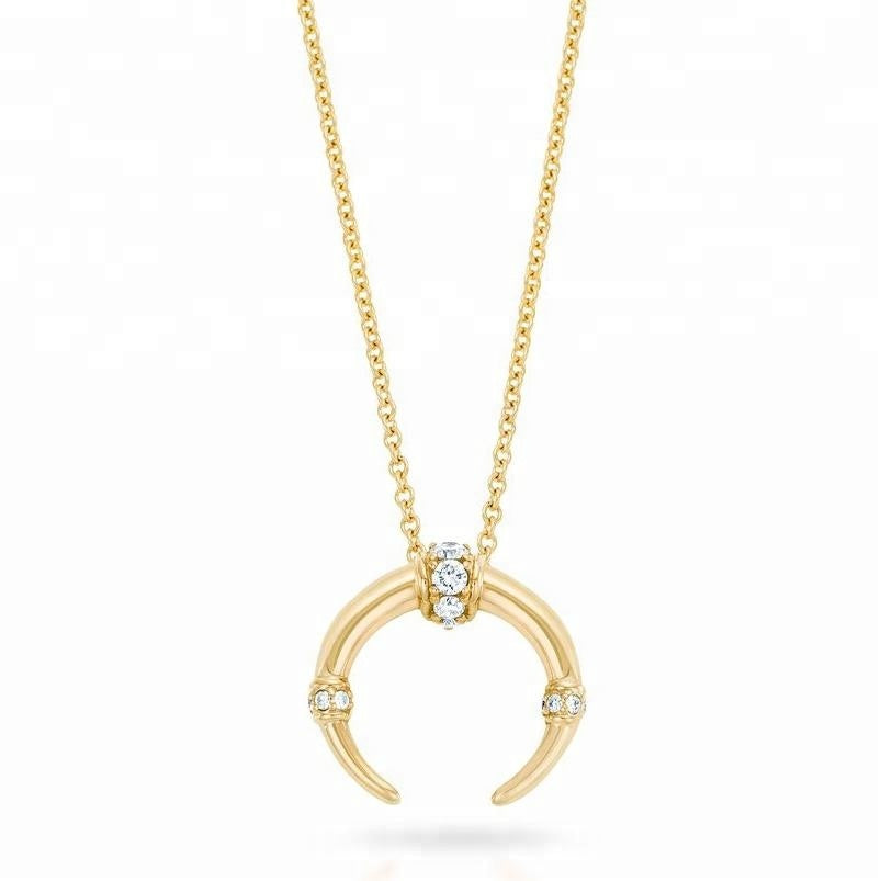 Minimalist Diamond | 925 Silver, 18K Gold