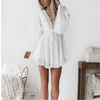 Laura Mini Dress | WHITE