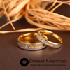 Ernest Martheo™ Personalized Name Gold Ring