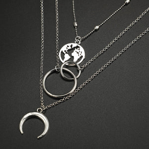 World necklace set | Layered
