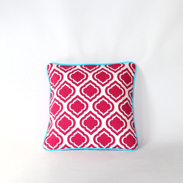 Cushion - Palm Beach Pink - 30 x 30 cm
