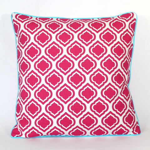 Cushion - Palm Beach Pink - 50 x 50 cm
