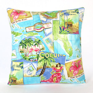 Cushion - Postcard - 50 x 50 cm