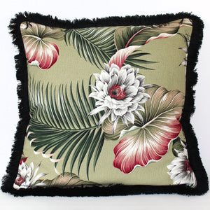 Cushion - Nightbloom Black - 50 x 50 cm