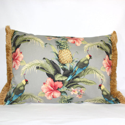 Cushion - Paradise Parrot Banana - 50 x 70 cm