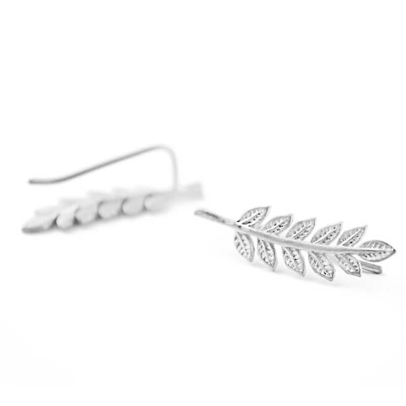 Leaf Hook Earring