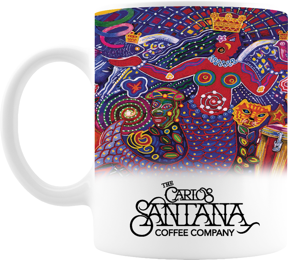The Carlos Santana Coffee Company Smooth Wrap Mug