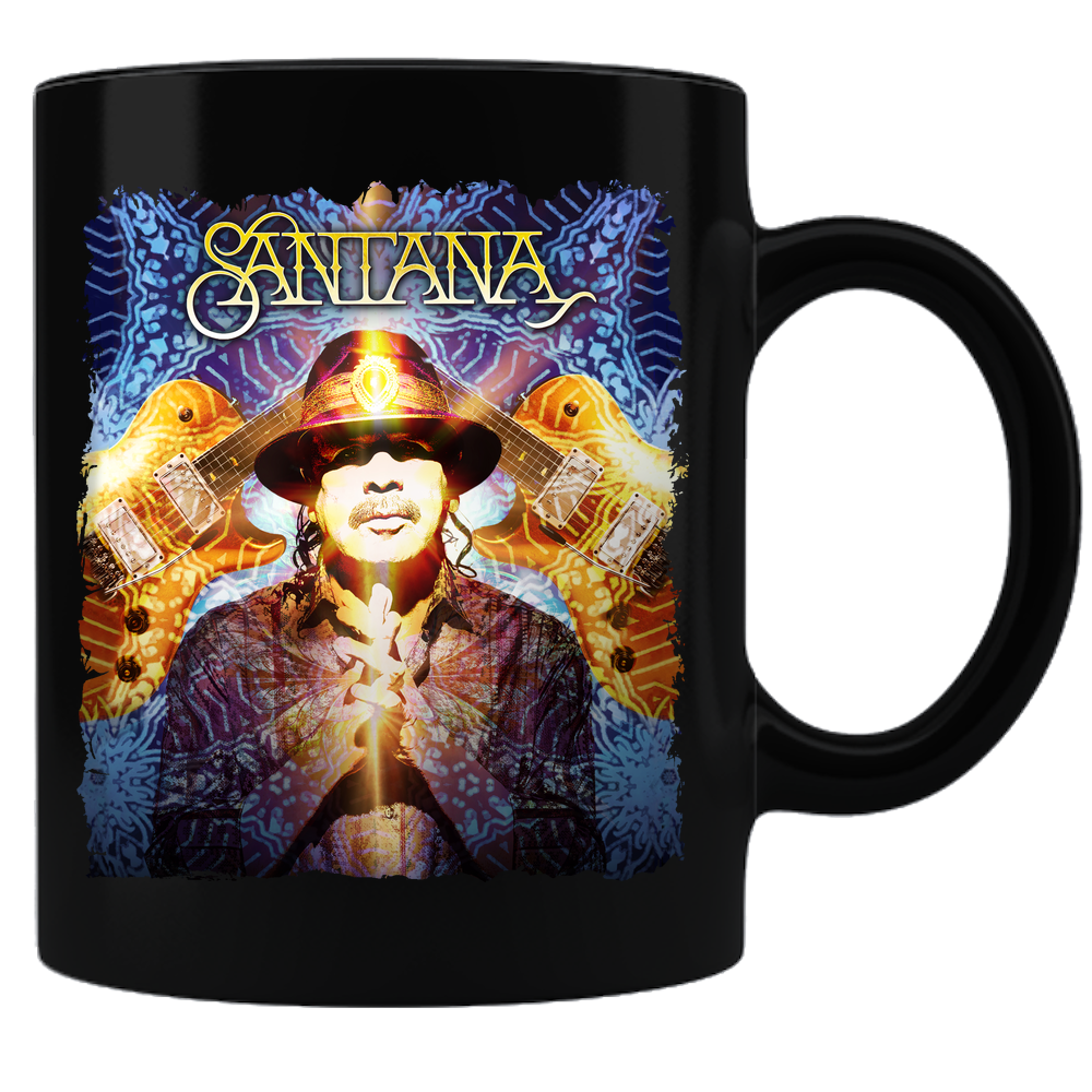 Carlos Santana - Living Legend Black Mug