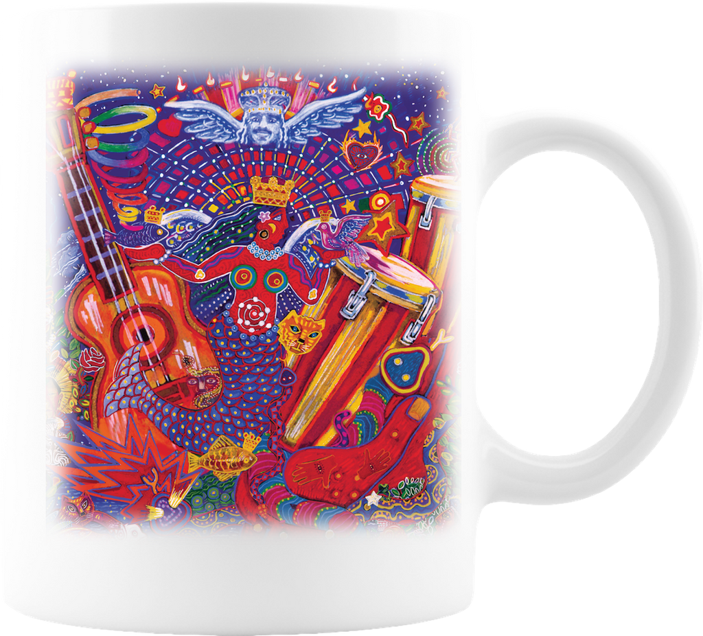 The Carlos Santana Coffee Company Smooth Coffee Mug
