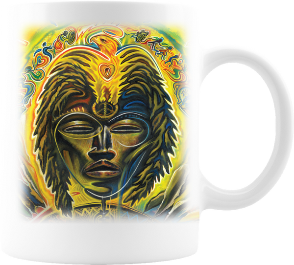 The Carlos Santana Coffee Company Global Consciousness Coffee Mug