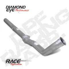 DOWN PIPE ALUMANIZED CAT/ DPF DELETE PIPE RACE PIPE